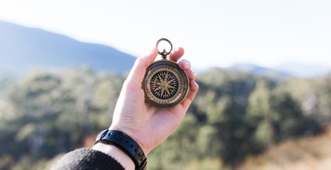 Kompas-zum-wandern