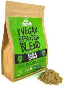 BodyMe Bio - Miscela Di Proteine Vegane Bio In Polvere al Cacao